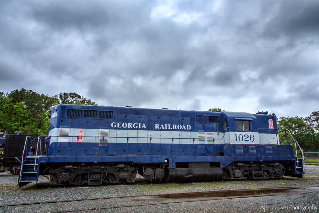 Touring Southeastern Railway Museum: Old Blue Engine