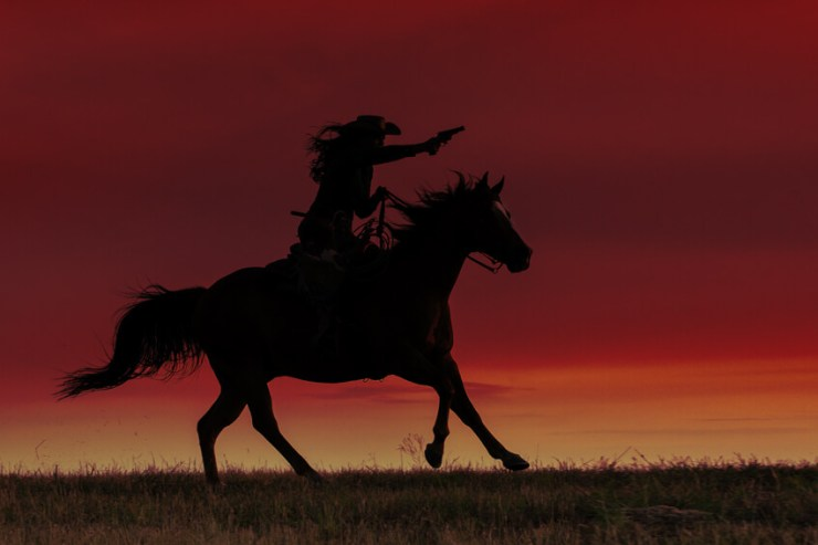 Horse Photography Workshop: Under a Blood Red Sky