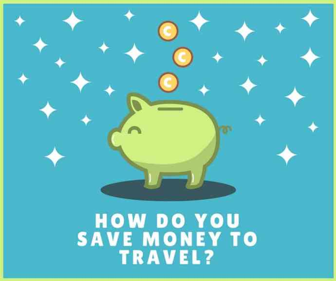 4 Steps to learn How to Save Money for Travel