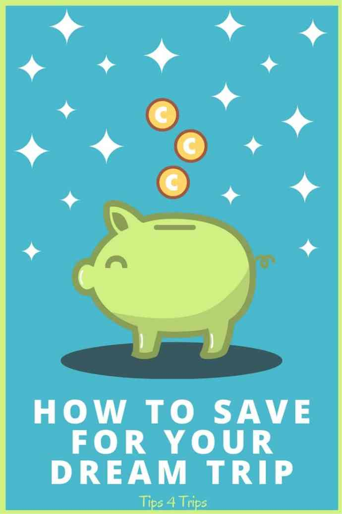 Learn how to save money for travel in 4 steps. Includes free PDF saving budget worksheet to plan your trip.