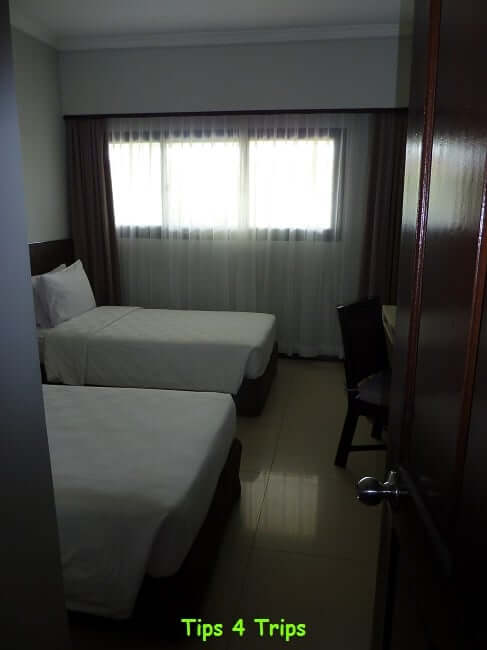 The kids room in the 2 bedroom suite at Sanur Paradise Plaza Suites