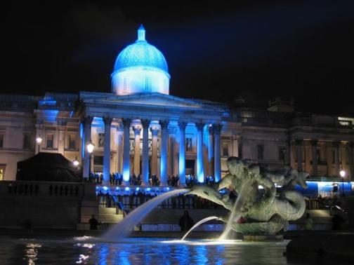 National Gallery at Trafalgar Square