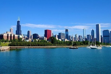 Landscape photograph of Chicago
