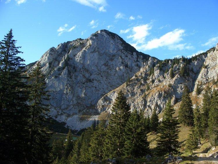 Benediktenwand From Jachenau
