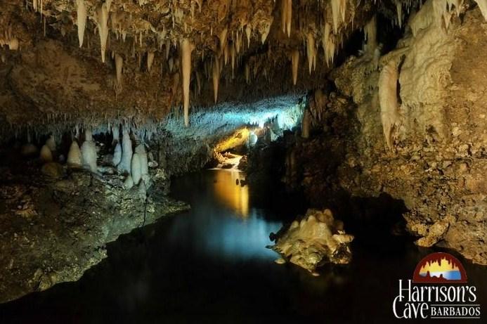 harrison's cave barbados header