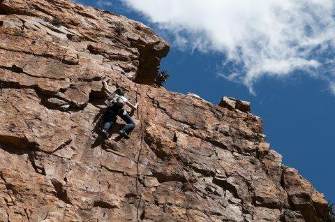 Montagu rock climbing 2
