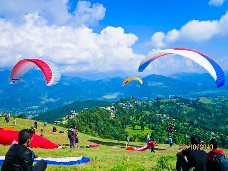 Paragliding In Pokhara 4