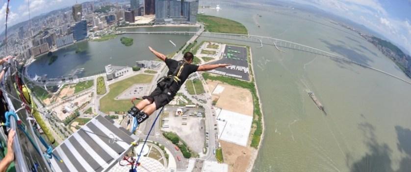 Highest Bungee Jump – China