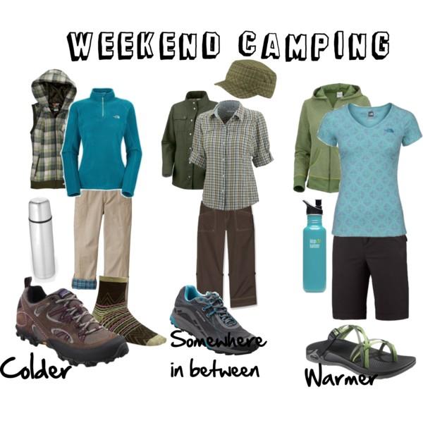 camping wear