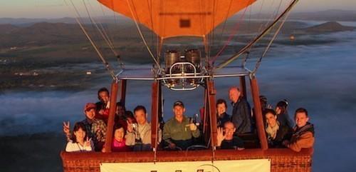 Hot Air Balloon Ride Over Guadarrama Regional Park