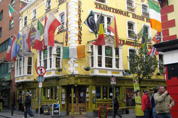 Dublin Traditional Irish Pub Music Crawl