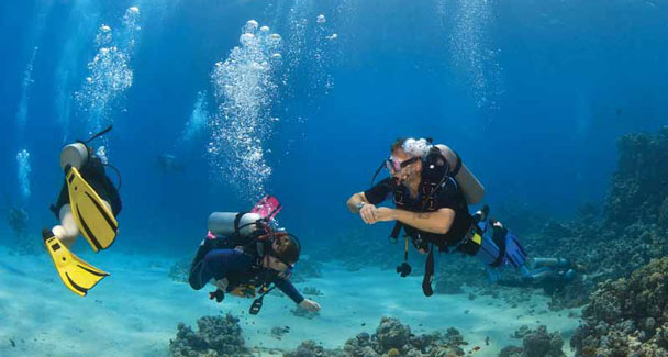 Kamari Beach – Scuba Diving