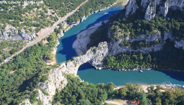 The Gorges Of The Ardeche