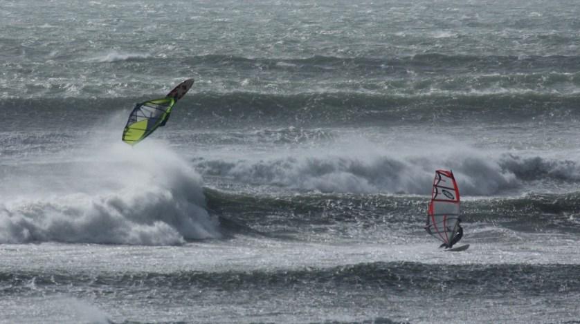 Marazion windsurfing