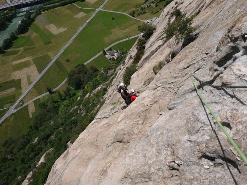 rock climbing italy
