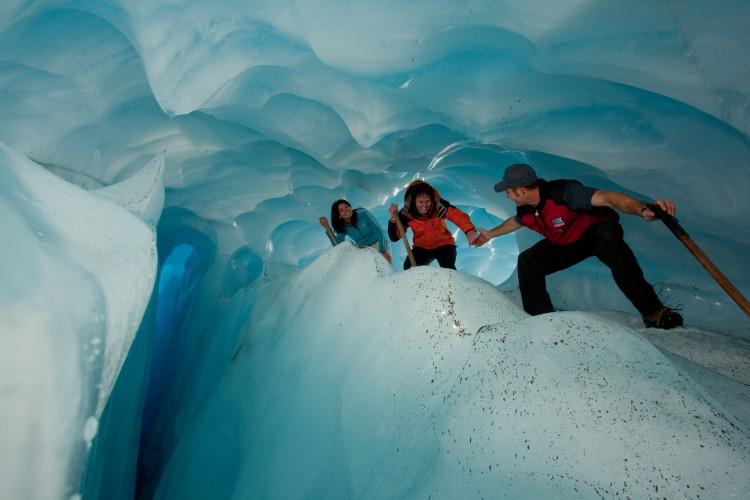 Climbing Glaciers
