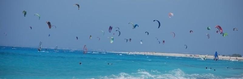 Kitesuring In Lefkada