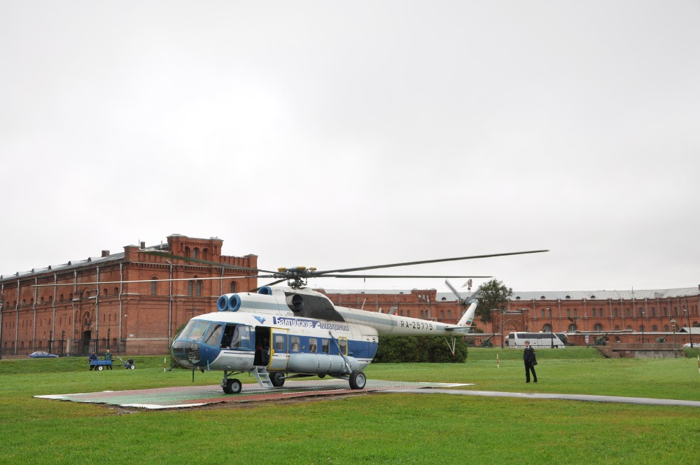 Private Helicopter Tour St. Petersburg