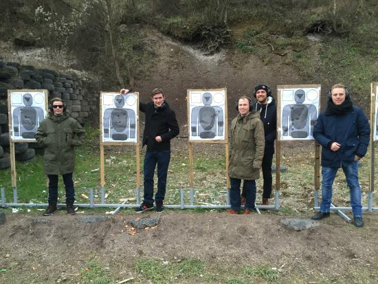 Shooting Range Experience In Prague