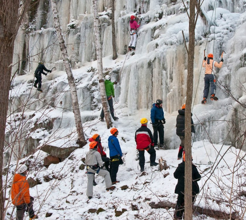 Ice Climbing In Minnesota