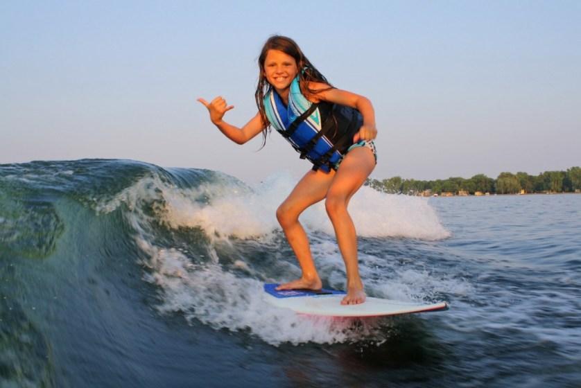 Wakesurfing In Minnesota