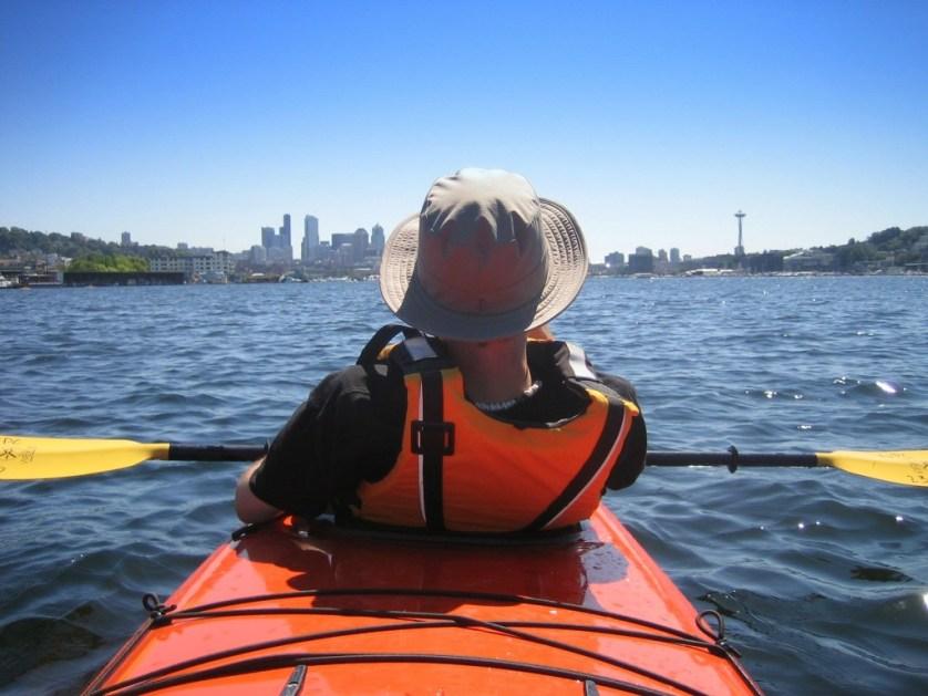 sea kayaking seattle