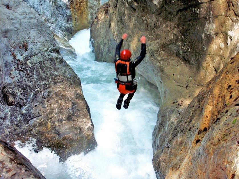 canyoning switzerland