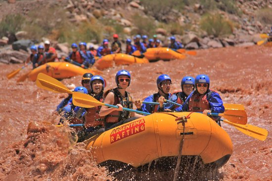 rafting argentina
