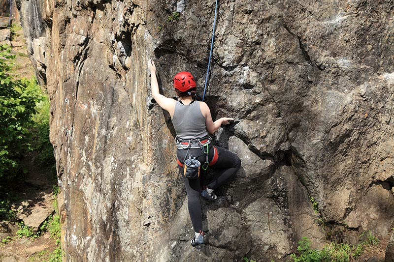 vancouver island rock climbing