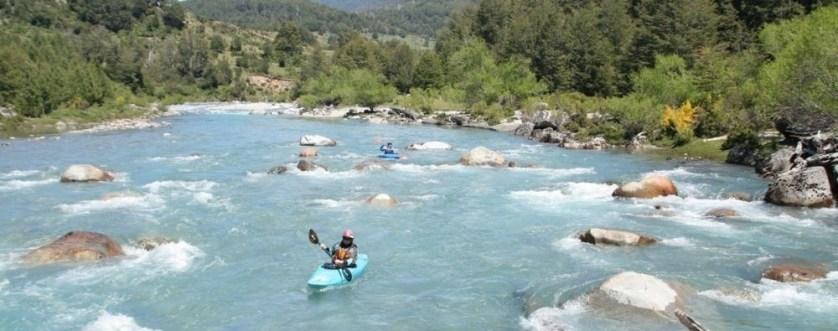 Kayaking In Chile