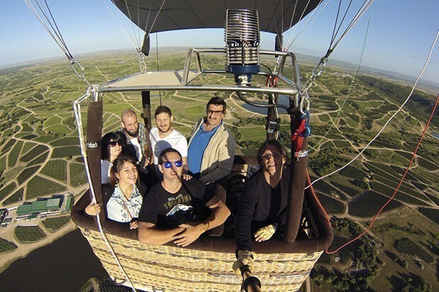 Hot Air Balloon Rides In Uruguay