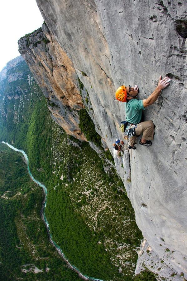 Rock Climbing In Verdon Gorge