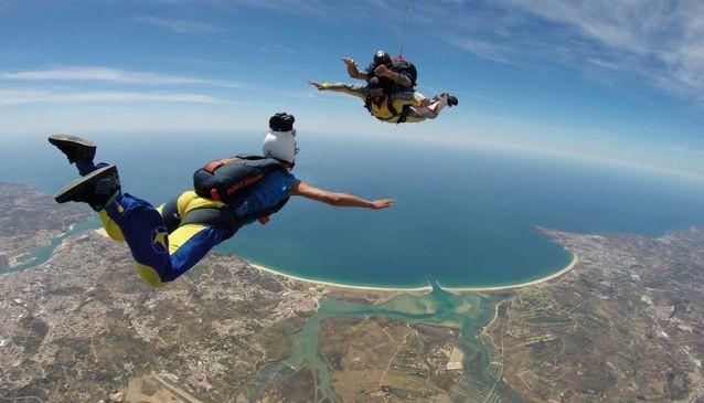 Skydiving In Algarve