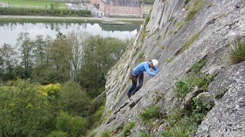 Rock Climbing In Belgium