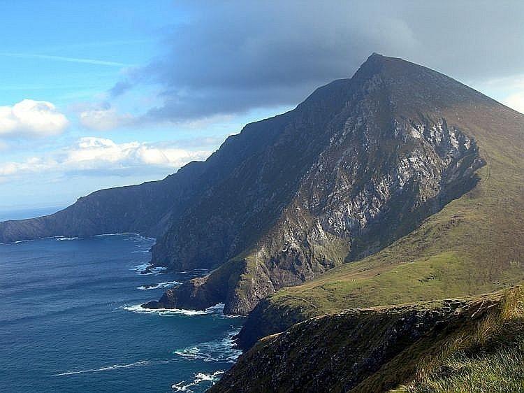 Windsurfing In Achill Island, Ireland