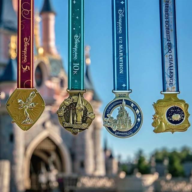The medals for runDisney at Disneyland Paris look amazing!