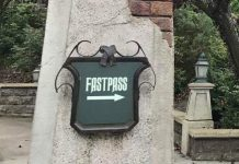 Fastpass Disneyland Paris Phantom Manor ED92live