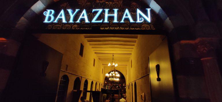 Meals experience at Bayazhan Restaurant Gaziantep, Turkey – #MacroTraveller