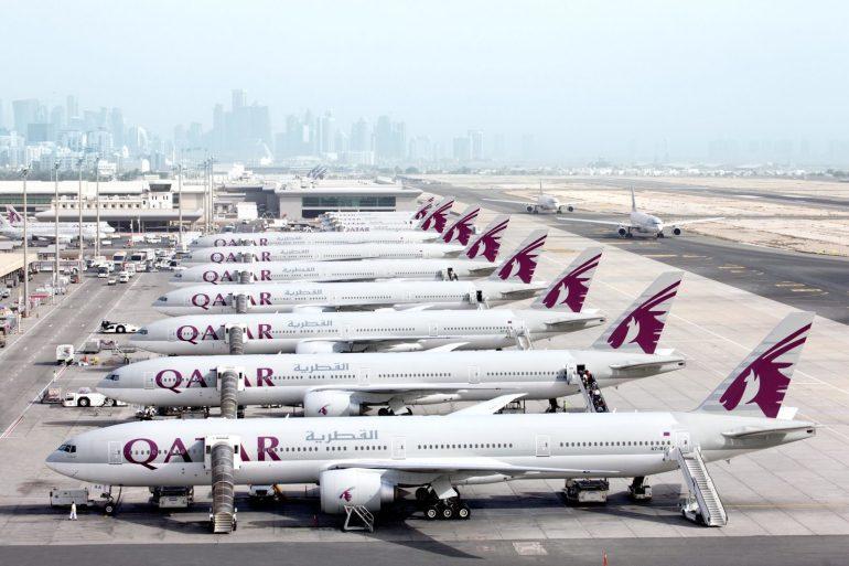 Beneath prolonged journey bubble association, flights between India and Qatar prolonged.