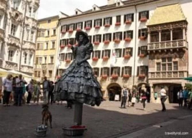 The Goldenes Dachl in Innsbruck.