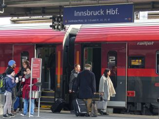 Travel just about anywhere in Europe from the main train station in Innsbruck.