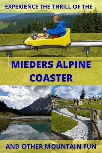 Mieders Alpine coaster and other mountain fun in Austria