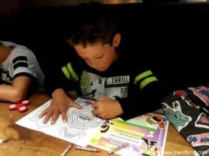 Hard Rock Cafe Innsbruck kids' activity book.
