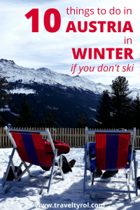 Things to do in Austria in winter for non-skiers