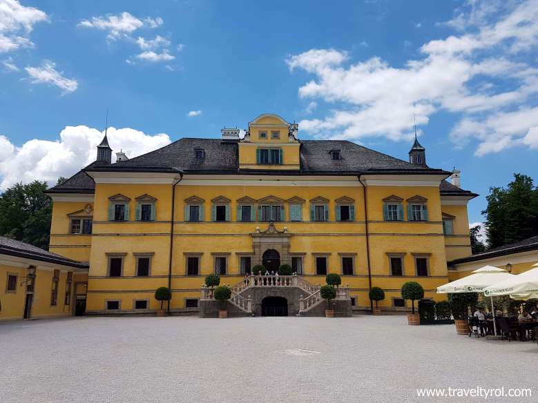 Hellbrunn Palace is included in the Salzburg Card.