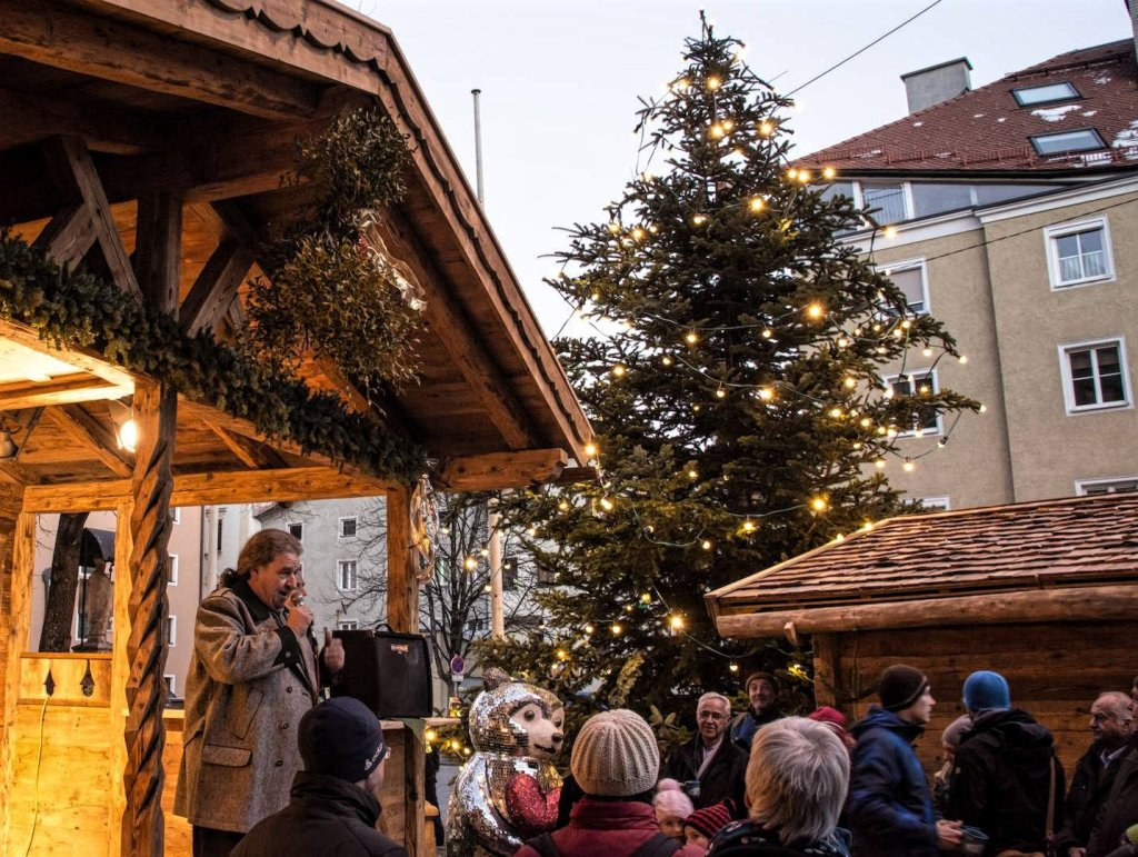 St Nikolaus is one of the most authentic Christmas markets in Innsbruck.