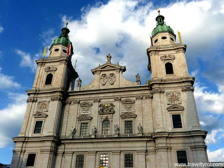 The excavations at the Salzburg Cathedral is included in the Salzburg Card.