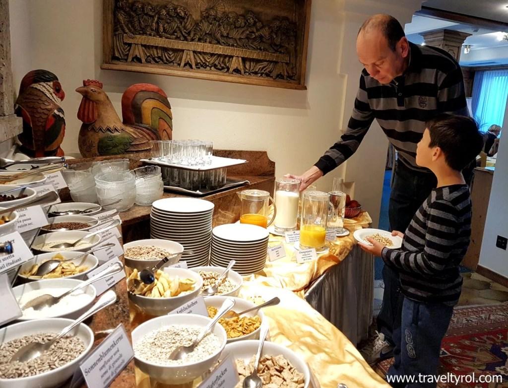 Breakfast buffet Hotel Serles