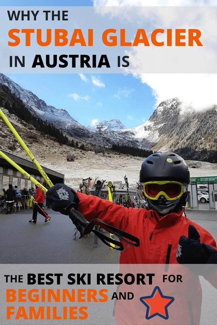 Stubai Glacier for families