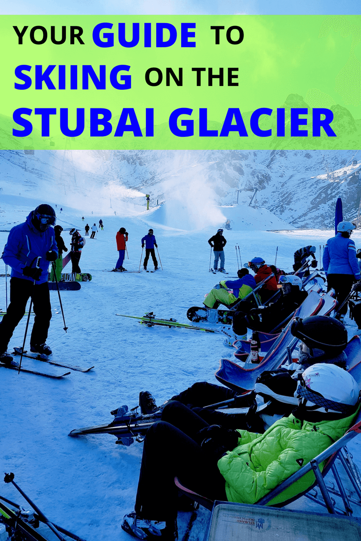 Stubai glacier ski guide
